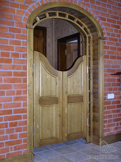 Как сделать ковбойские двери своими руками 22
