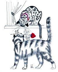 Гнездо Аистов Вера Глотова мартовские коты