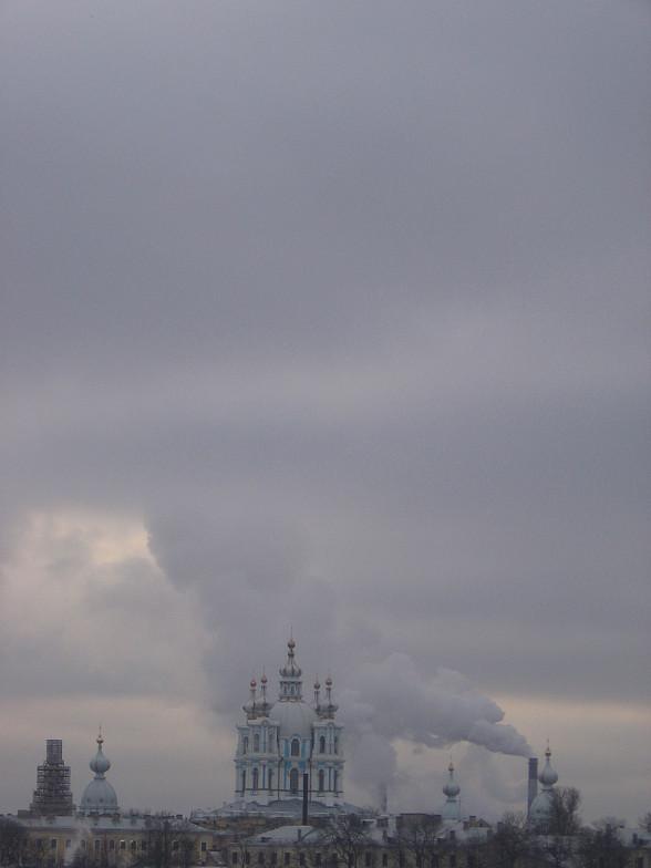 Санкт-Петербург Ленинград Смольный собор