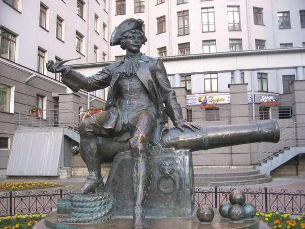 Санкт-Петербург Ленинград бомбардир Василий