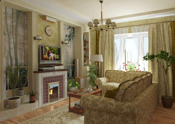 Красивые фото гостиной
