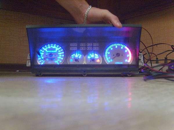 Ваз 2109 как сделать подсветку приборов