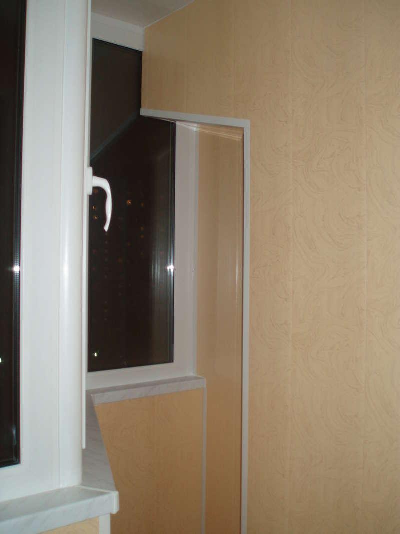 Проект: отделка балкона лоджии панелями пвх, автор лоджии&am.