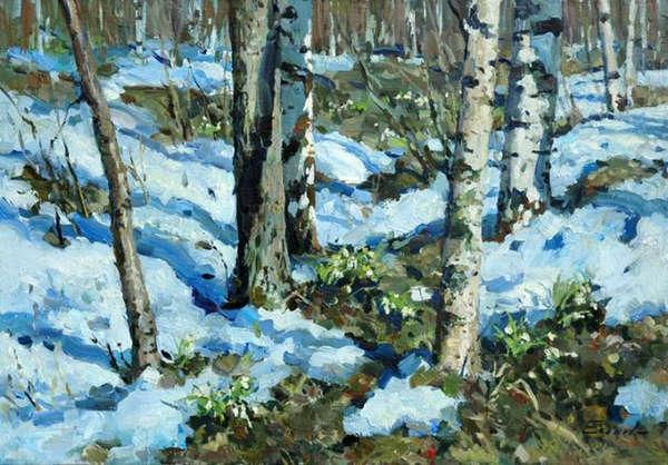 Картинки о весне художников
