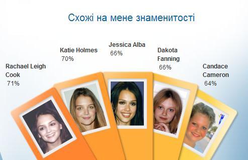 на кого я похож из знаменитостей по фото тест