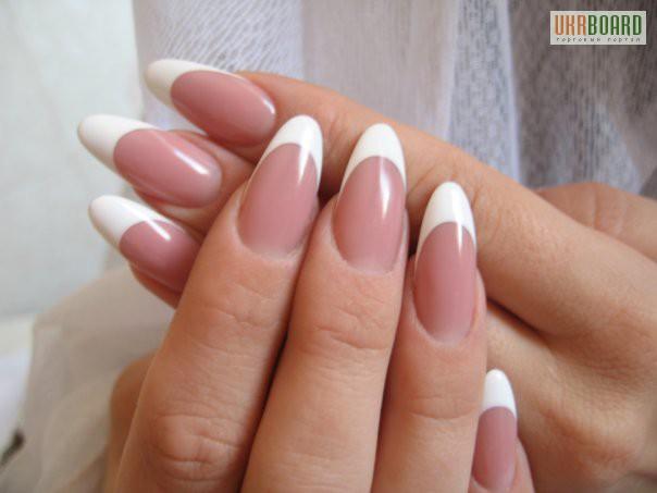 круглые ногти нарощенные фото