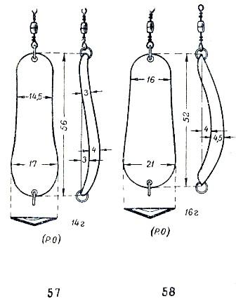 Как сделать блесну из медной трубке