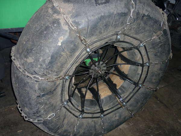 Как сделать колеса пневмохода