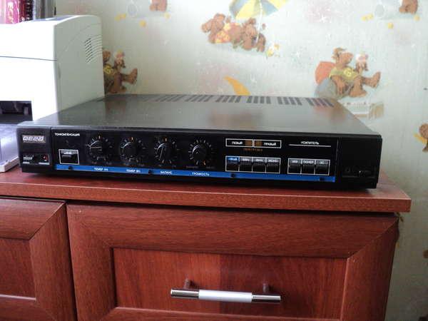 черный у-120с и акустика БРЗ