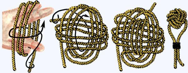 Плетение узлов узел кулак