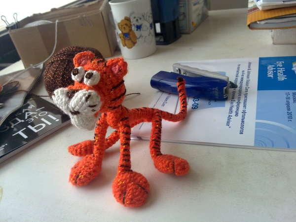 Вязание игрушек и сувениров крючком