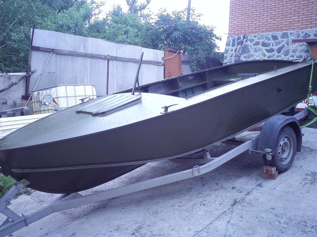 какой краской лучше покрасить лодку прогресс