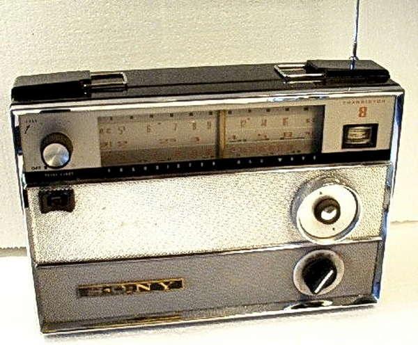 Схема радиоприёмника SONY TR