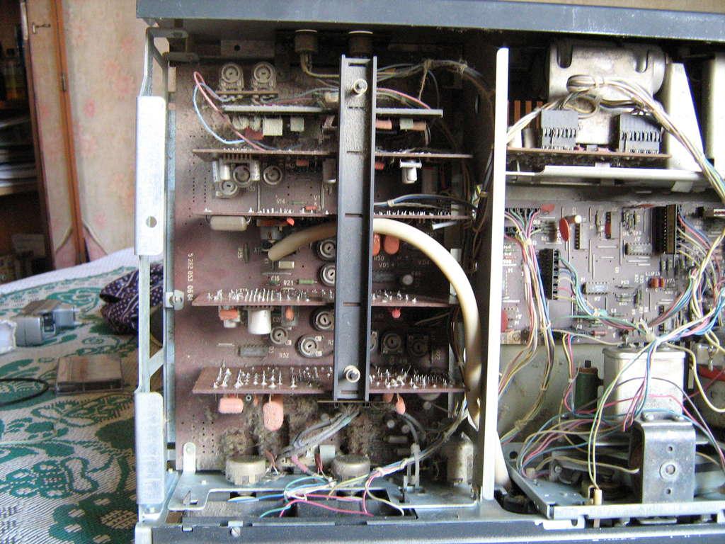 схема телевизора славутич ц 281д