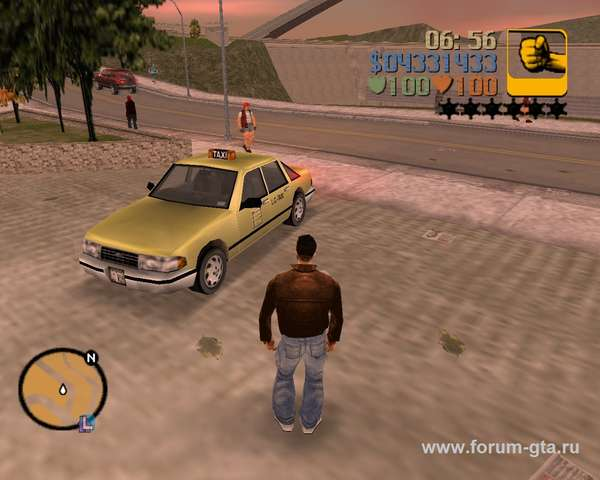 Taxi GTA 3