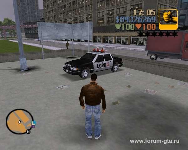 Police Car GTA 3
