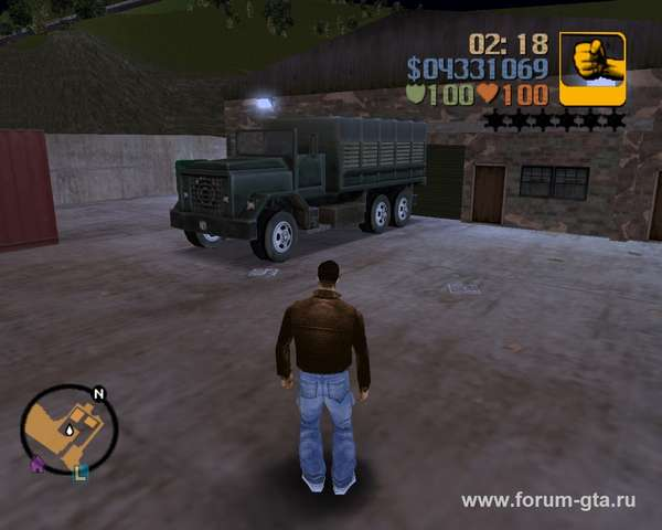 Barracks OL GTA 3