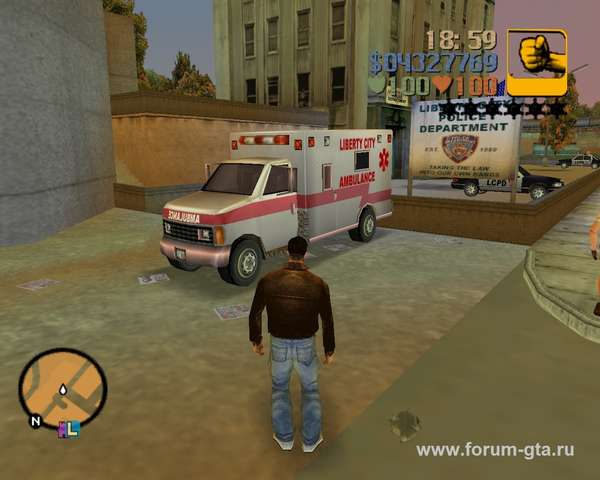 Ambulance GTA 3