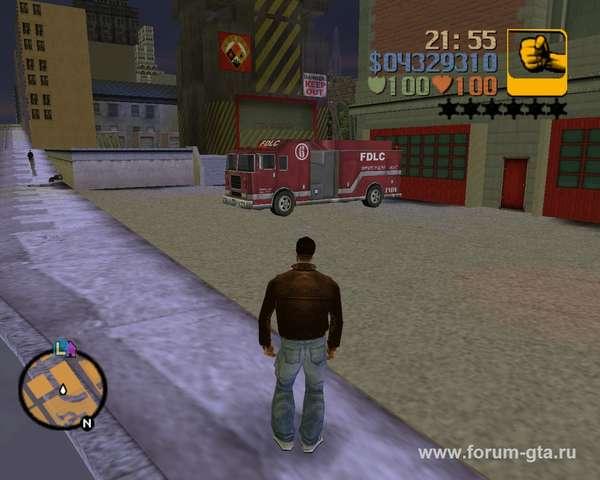 Fire Truck GTA 3