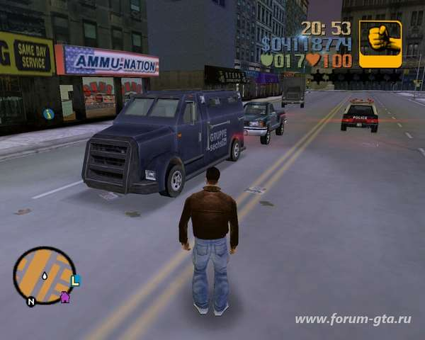 Securicar GTA 3