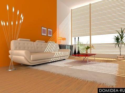 for Paredes naranja y beige