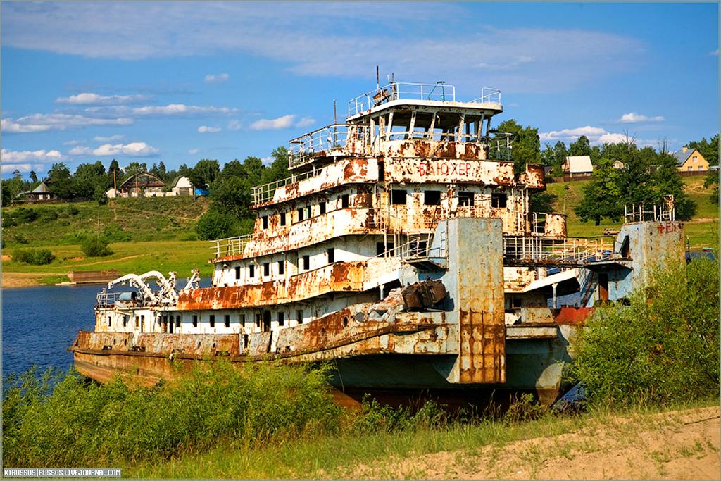 Старинные фотографии речных судов - Наш транспорт (Моё метро)