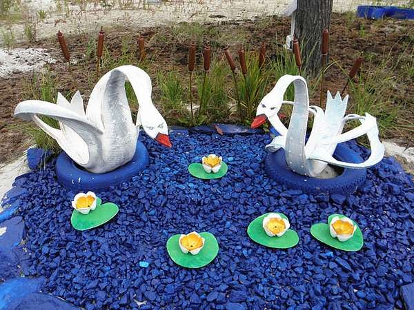 Лебедь для детского сада 74