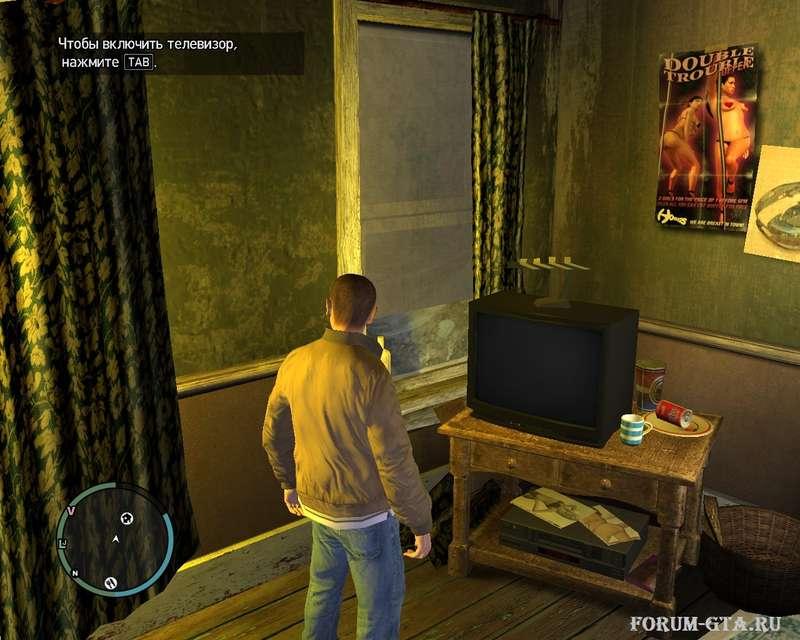 Телевизор в GTA 4
