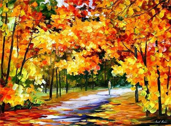 Рисунок осень фото
