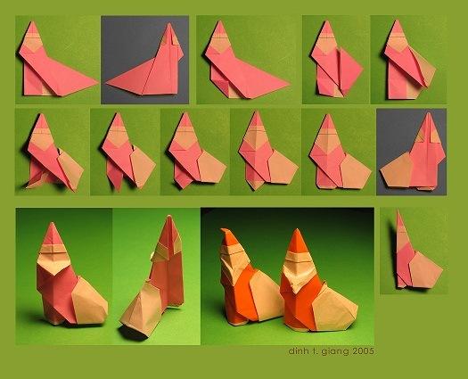Игрушки своими руками из бумаги оригами
