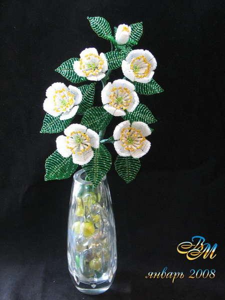 Цветок состоит из четырех