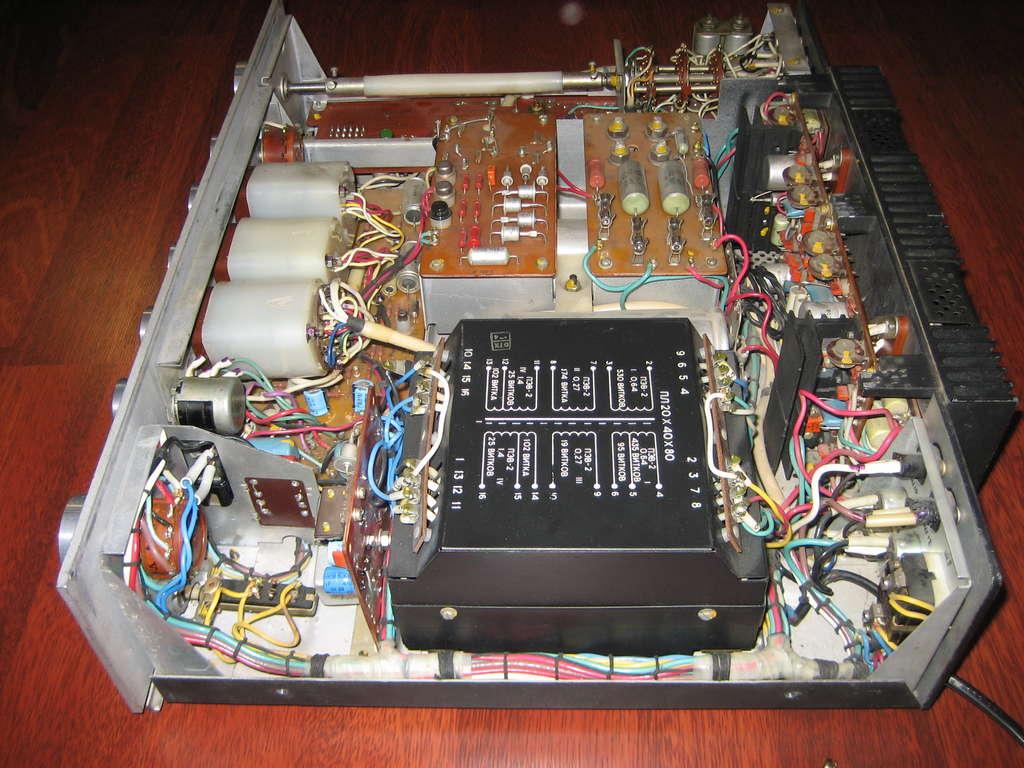 усилитель бриг 001 стерео схема