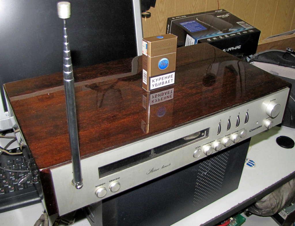 схема радиолы кантата 203
