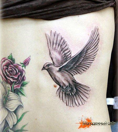 Татуировка пара голубей значение