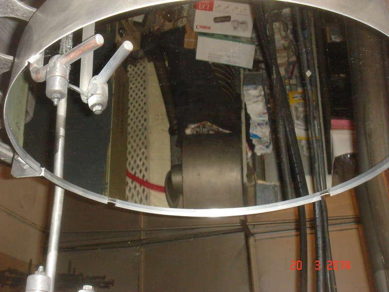 Напыление зеркал для телескопов