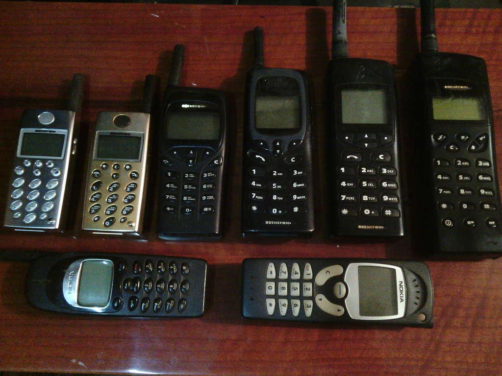 Кто нибудь собирает РЕТРО телефоны?