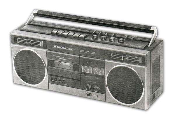 Стереофонический магнитофон