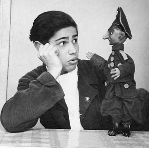 Евгений Ваганович Петросян в начале карьеры. Баку. СССР. 1958