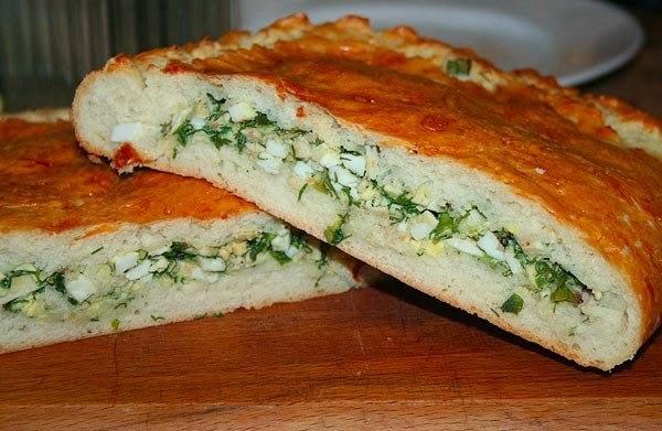 Пирог с луком и яйцом рецепт пошагово с фото