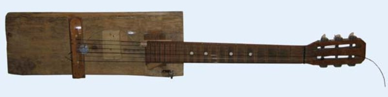 Самодельный гриф на гитару