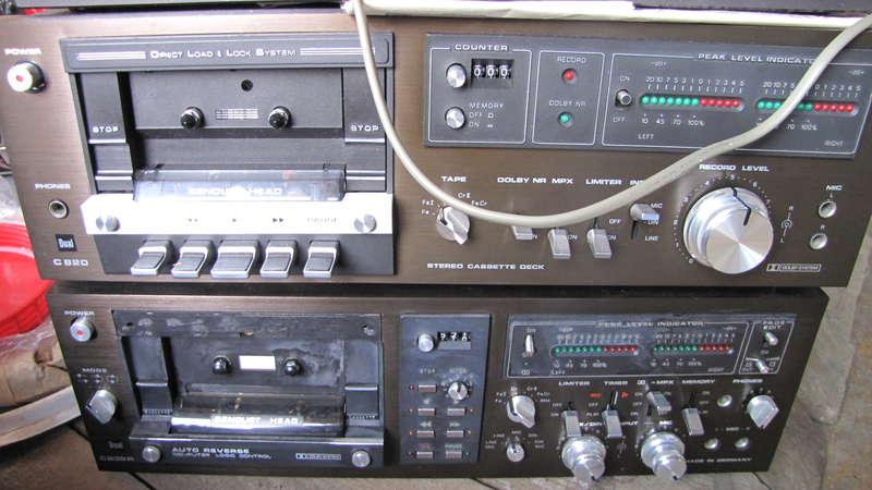 ресивер  кассетная дека Dual