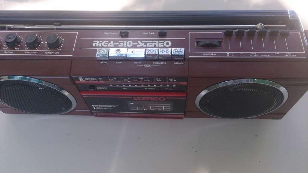 Рига-310-стерео схема