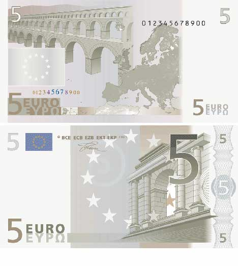 фото купюры 5 евро