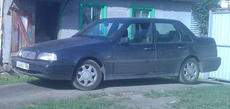 литые диски volvo 440 460