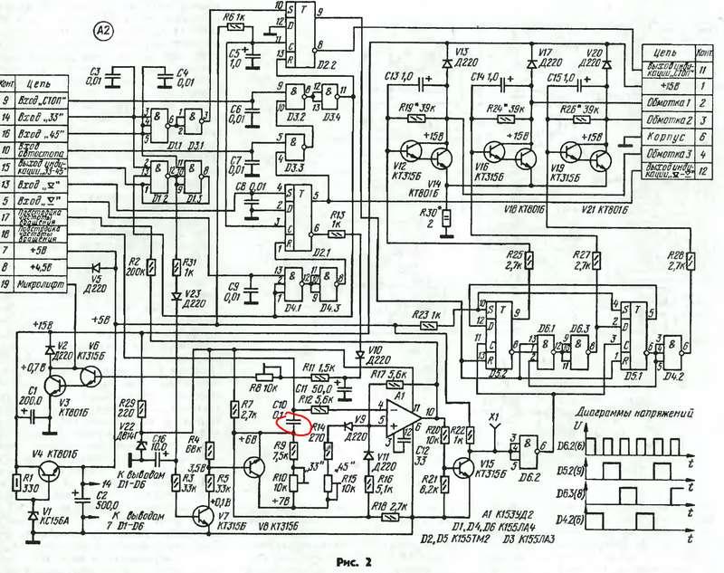 Эпу-82ск медленно крутится двигатель