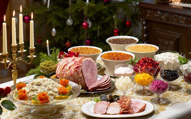 какие блюда на столе на рождество индустрии делятся