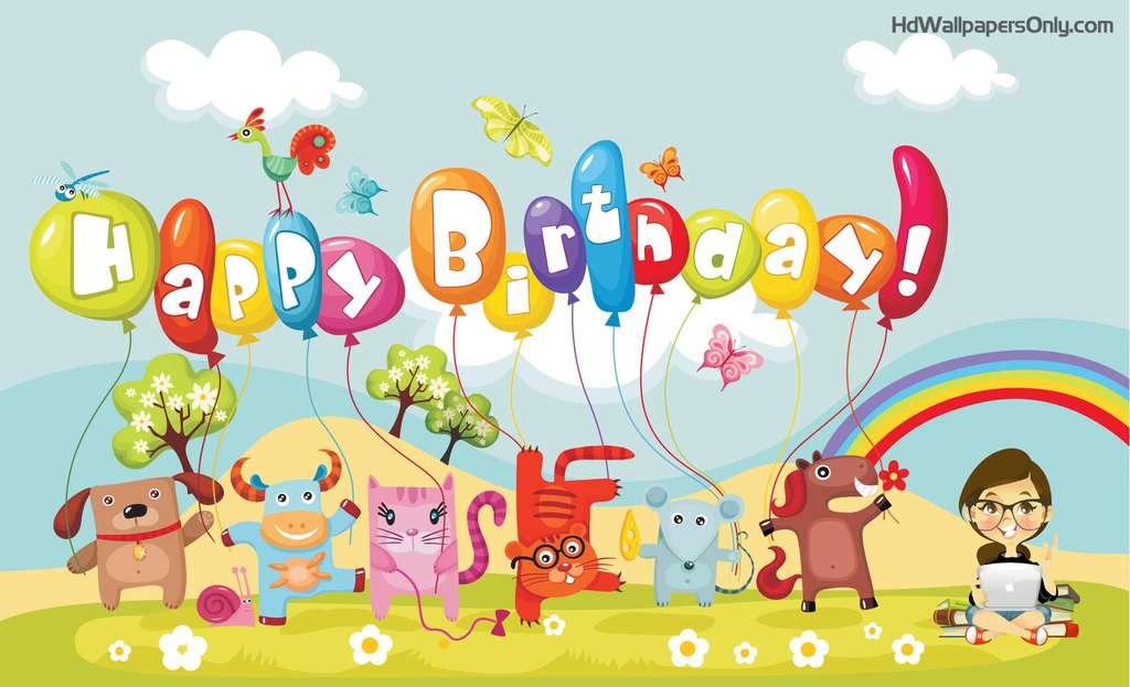 Веселые поздравления днем рождения ребенку