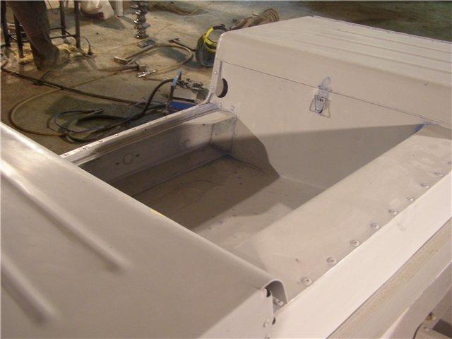 обь-3 усиление транца на лодке обь 3