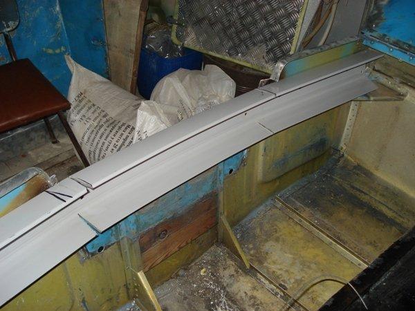 транец на алюминиевую лодку