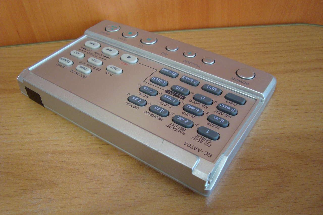 Пульты ДУ от аудио-видео 80-90х from Japan.